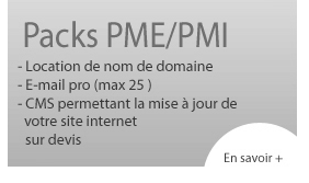 Pack Site internet PMI/PME